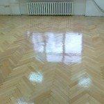Parketa grīdas restaurācija pēc